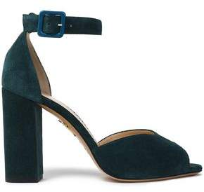 Charlotte Olympia Suede Sandals
