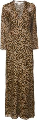 Michelle Mason leopard print dress