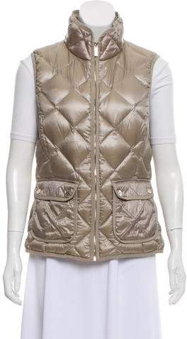 Calvin Klein Collection Quilted Down Vest