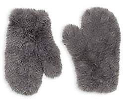 03b316b4e Glamour Puss Glamourpuss Women's Signature Knitted Faux Fur Mittens