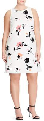 Lauren Ralph Lauren Paland Brunette Park Floral Shift Dress