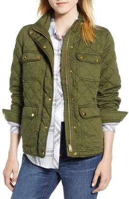 J.Crew J. CREW Quilted Downtown Field Jacket