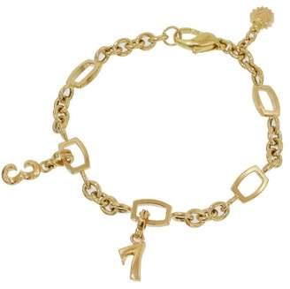 Franck Muller Talisman 18K Yellow Gold Chain Link Bracelet