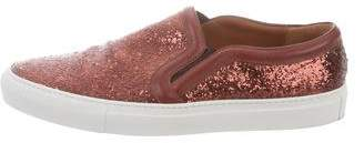 Givenchy Sequined Leather Sneakers