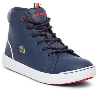 Lacoste Explorateur High Top Sneaker (Little Kid & Big Kid)