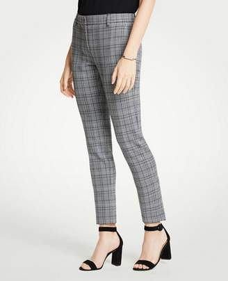 Ann Taylor The Petite Ankle Pant In Dash Plaid