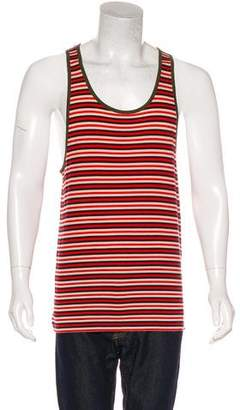 Marc by Marc Jacobs Striped Scoop Neck Tank