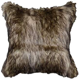 Richmond Spencer Home Decor Faux Fur Throw Pillow