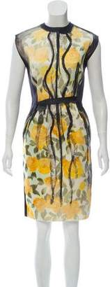 Lanvin Printed Knee-Length Dress