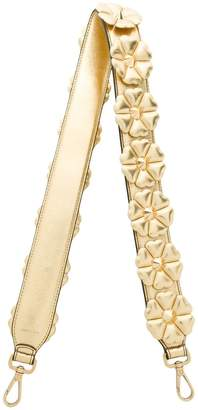 Fendi metallic Strap You bag strap