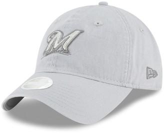 New Era Women's Milwaukee Brewers 9TWENTY Glisten Adjustable Cap