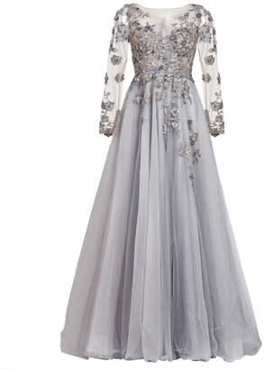 Couture MATSOUR'I Dress Charleen Gray