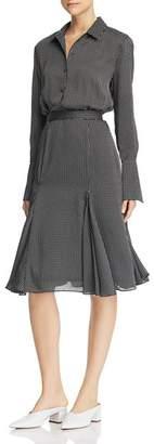 Equipment Bancort Printed Dress