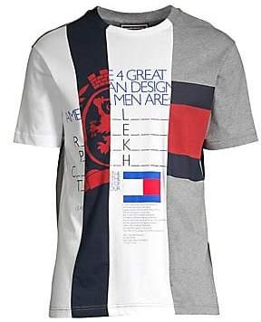 589e269c Tommy Hilfiger Edition Men's Regular-Fit Multi Logo Graphic Tee