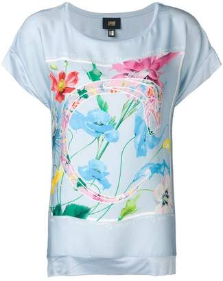 Class Roberto Cavalli floral print T-shirt