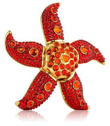 Estee Lauder Limited Edition Modern Muse Dancing Starfish Perfume Compact by Monica Rich Kosann