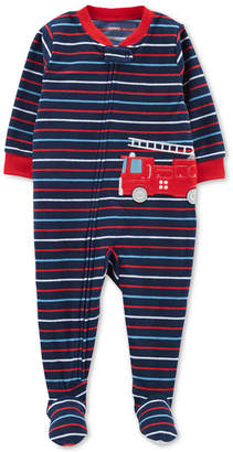 Carter's Baby Boys Fleece Footed Pajamas