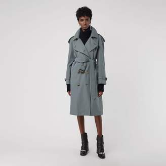 Burberry Wool-lined Tropical Gabardine Trench Coat , Size: 14