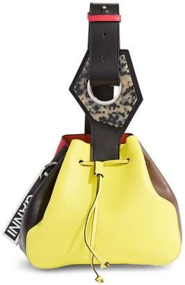 Ganni Multi-Coloured Bucket Bag