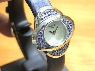 Tissot (ティソ) - [ティソ]TISSOT 腕時計 Tトレンド コレクション プレシャス フラワー ブルー サファイア T03123580 【生産終了 超 レアモデル】