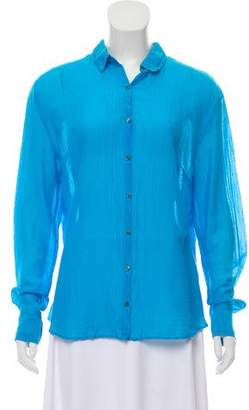 0039 Italy Efisia Button-Up Top
