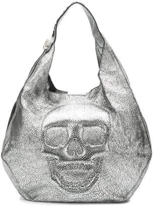 Philipp Plein skull hobo shoulder bag