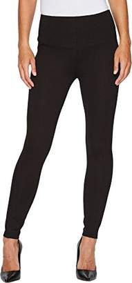 Liverpool Jeans Company Women's Reese Ankle Legging in Mini Check Ponte Knit