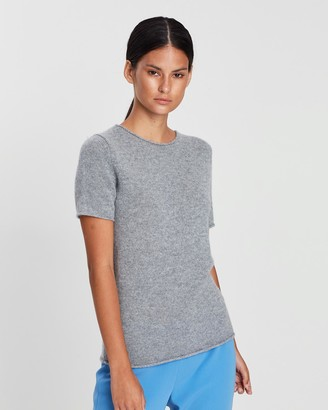 Theory Tolleree Cashmere Knit Tee