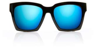 Blanc Eclare New York Shiny Black, Blue Mirror Lens