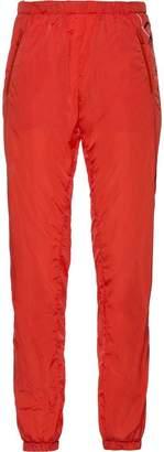 Prada logo print track pants