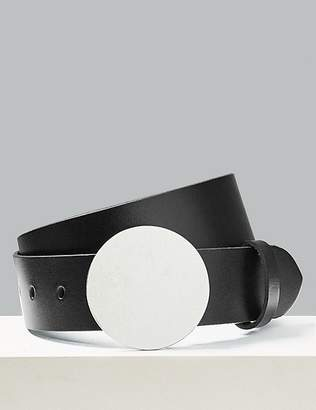 Marks and Spencer Leather Buckle Waist Belt