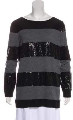 Alice + Olivia Sequin Wool Sweater
