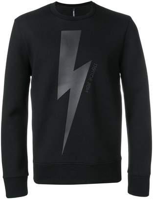 Neil Barrett Danger sweatshirt