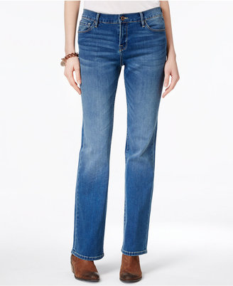 Tommy Hilfiger Pale Blue Wash Bootcut Jeans, Only at Macy's $69.50 thestylecure.com
