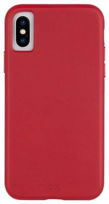 Barely There Case-Mate iPhone Xs / X Cardinal Leather Case