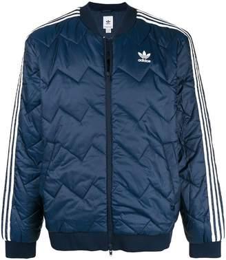 adidas short padded jacket