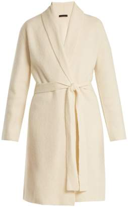 The Row Naido long-line belted cashmere cardigan