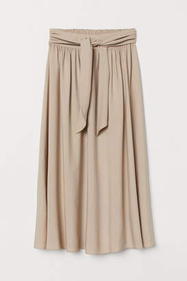 H&M Circle Skirt - Beige