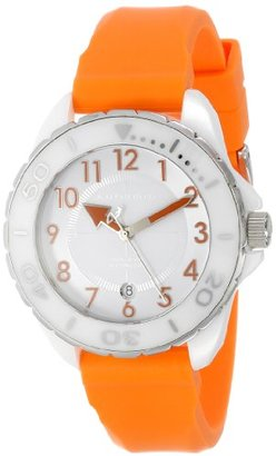 Android (アンドロイド) - Android Women 's ad512awrg Exotic White CeramicオレンジRubber Strap Watch