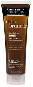John Frieda Brilliant Brunette Shine Release Shampoo