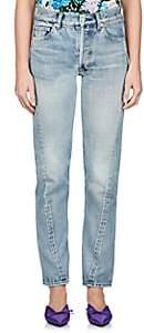 Balenciaga Women's Crop Skinny Jeans - Lt. Blue