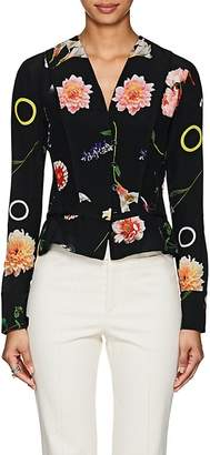 Narciso Rodriguez Women's Floral Silk Blouse