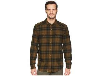 Prana Horizon Long Sleeve Flannel Shirt