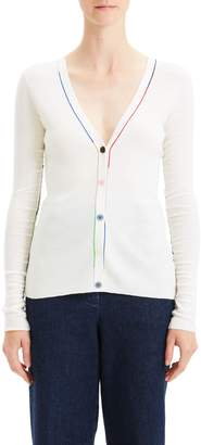 Theory Multicolor Linked Cardigan