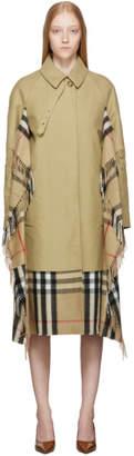 Burberry Tan Blanket Coat