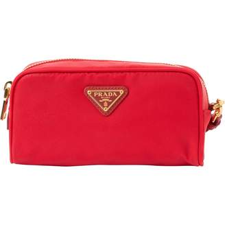 Prada Cloth Clutch Bag