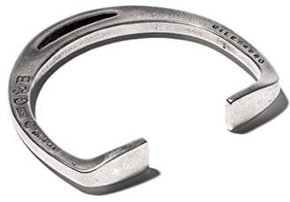 Giles & Brother Giles and Brother Stirrup Silver Oxide Cuff Bracelet