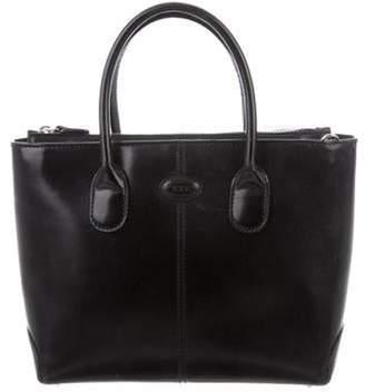 Tod's Mini Leather Satchel Black Mini Leather Satchel
