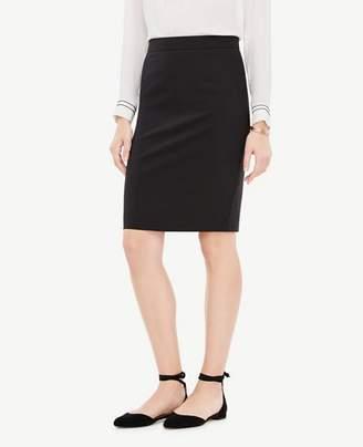 Ann Taylor Petite Tropical Wool Pencil Skirt