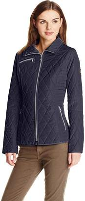 Jessica Simpson Women's Diamond Quilted Jacket